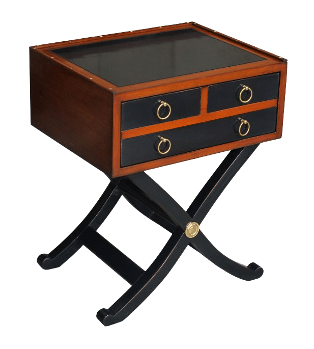 Campaign Side Table